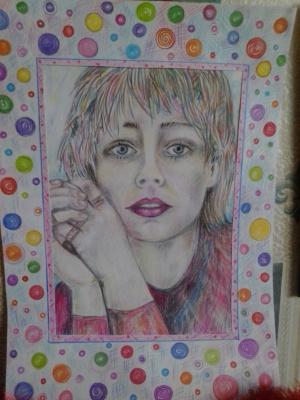 "Eva Nabi. ""Colored spots"""
