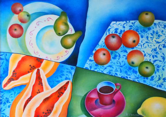 Margarita Eduardovna Prozorova. Diet