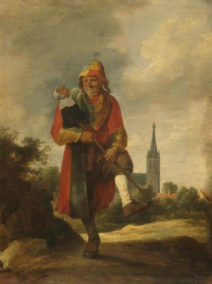 David Teniers the Younger. Jester