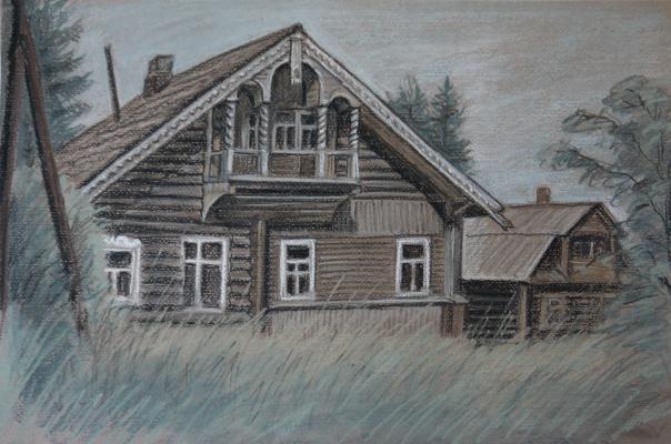 Irina Soboleva. Old house