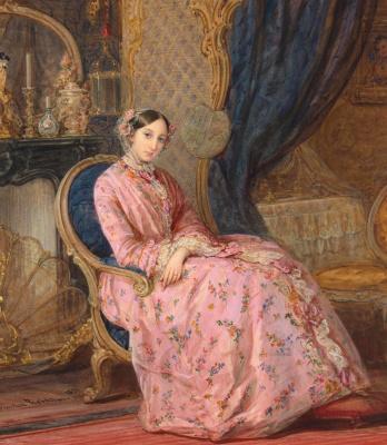 Кристина Робертсон. Портрет великой княгини Марии Николаевны.