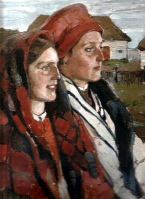 Елена Андреевна Киселева. Воронежские крестьянки. 1906