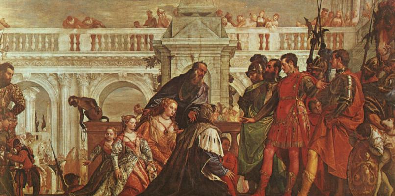 Паоло Веронезе. Семья Дария перед Александром
