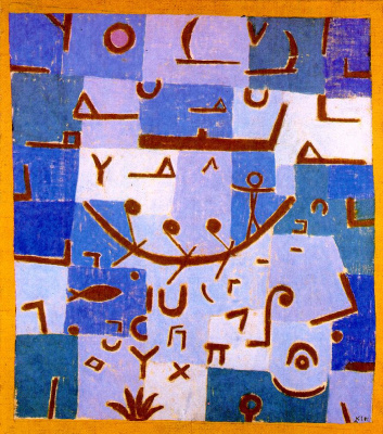 Paul Klee. The legend of the Nile
