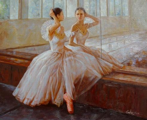 Гуань Зе-Джу. Балерины 2