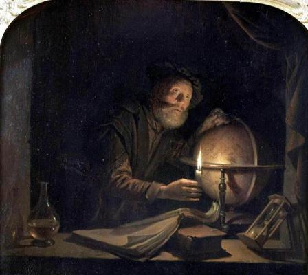 Gerrit (Gerard) Dow. Astronomer