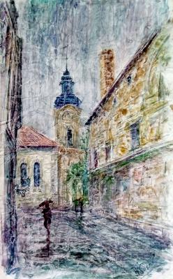 Valerij Ivanovich Sosna. Street in Krakow