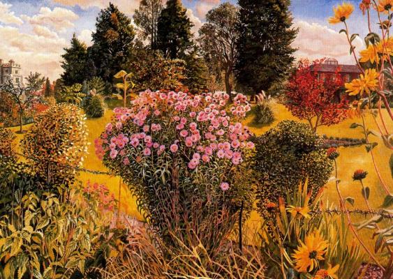 Stanley Spencer. Flowers