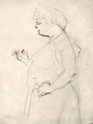 Henri de Toulouse-Lautrec. Lucy Bellange