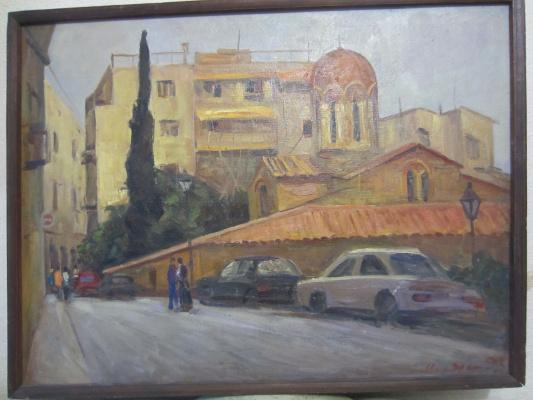 Игорь Алексеевич Маляренко. Греция старый город1993