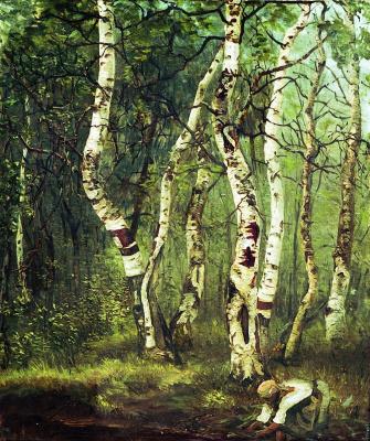 Efim Efimovich Volkov. Old birch