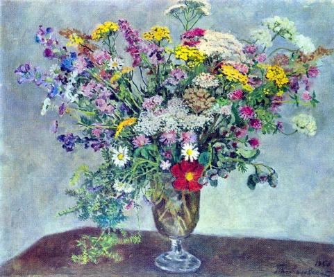 Petr Petrovich Konchalovsky. Wildflowers