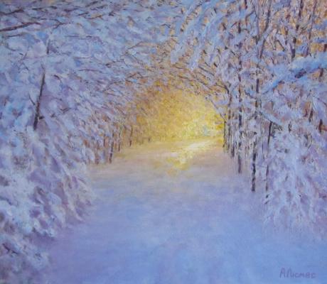 Andrew Lumez. Winter forest