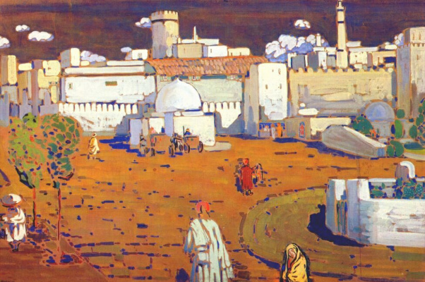 Wassily Kandinsky. Arab city
