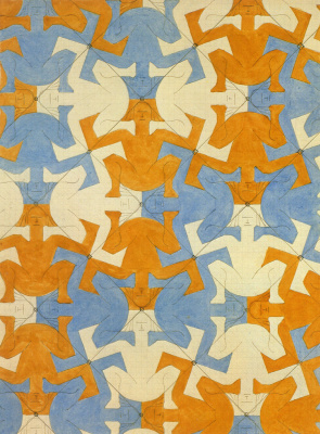 Maurits Cornelis Escher. Systematic study