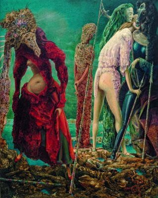 Max Ernst. The antipope