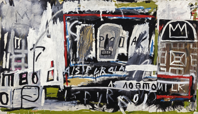 Jean-Michel Basquiat. New York, New York