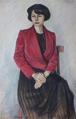 Boris Georgievich Bosko. Portrait of Marina Vitalievna