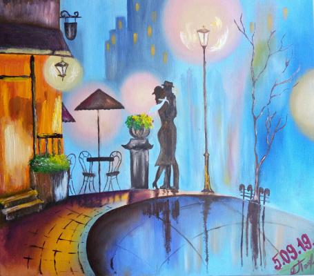Chris. Lovers in Paris