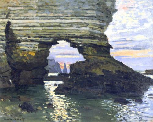 Claude Monet. Port d Amont. Étretat