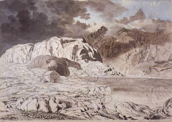 Йозеф Антон Кох. Приют на грозовом перевале