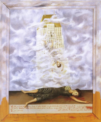 Frida Kahlo. The Suicide Of Dorothy Hale