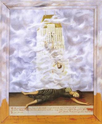 Frida Kahlo. The Suicide Of Dorothy Hale