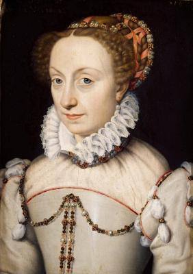 Франсуа Клуэ. Жанна д,Албре королева Наварры мать Генриха IV