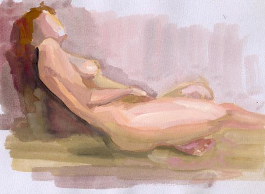 Svetlana Holodnyak. Sleep