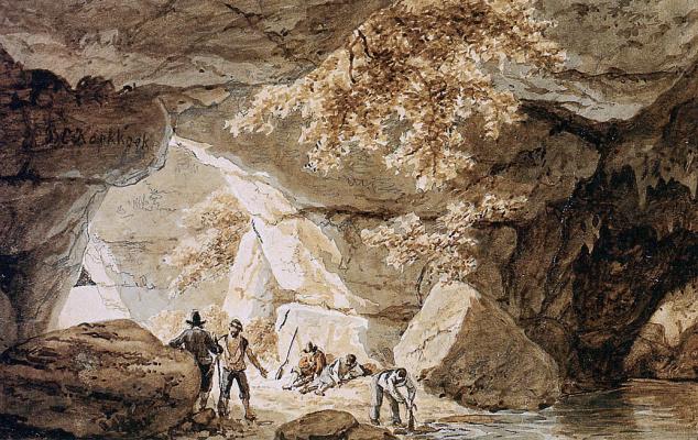Баренд Корнелис Куккук. Пещеры