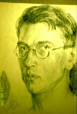 Николай Николаевич Хлебников. Автопортрет