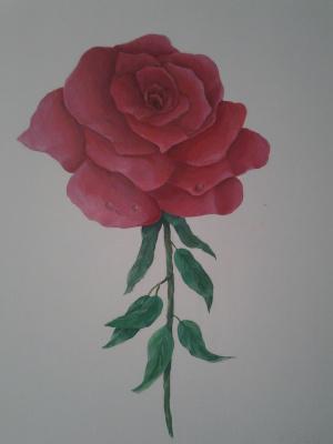 Mihran Mkrtumyan. Роза на стене