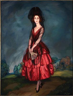 Игнасио Сулоага. Донья Мария дель Росариo де Сильва и Гуртубай, 17-я герцогиня Альба