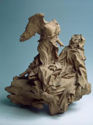 Gian Lorenzo Bernini. The Ecstasy Of Saint Theresa