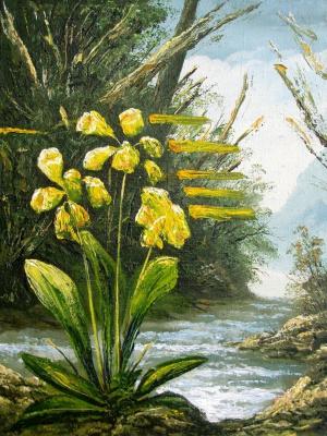 Юрий Владимирович Сизоненко. Flowers by the river.
