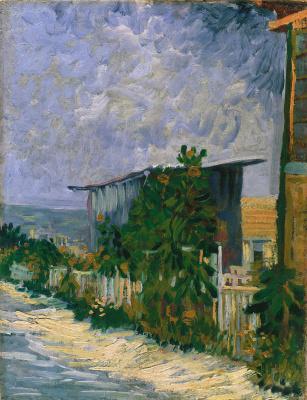 Vincent van Gogh. Montmartre Shelter