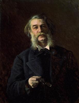 Ivan Nikolayevich Kramskoy. A portrait of the writer Dmitry Vasilyevich Grigorovich