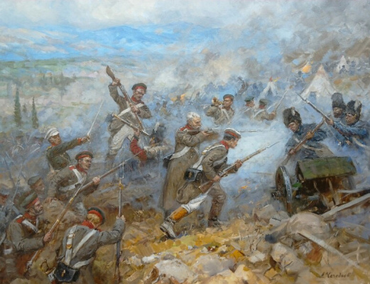 Aleksandr Chagadaev. Inkerman battle. Crimean War