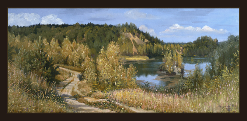 "Sushienok64@mail.ru Михайлович Сушенок Игорь. ""Summer has breathed in the fall."""