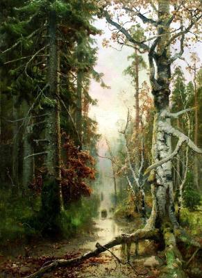 Юлий Юльевич Клевер. Осень в лесу