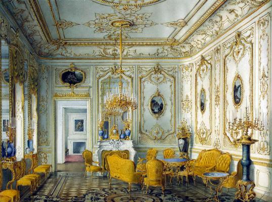 Желтая гостиная графа Строганова