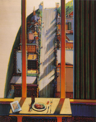 Wayne Thibaut. The view from the apartment