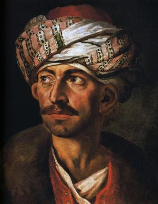 Théodore Géricault. Portrait of Mustafa