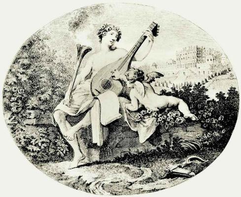 William Hogarth. Hymen and Cupid