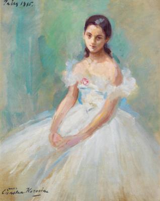 Константин Алексеевич Коровин. Портрет балерины Иоланды Лакка