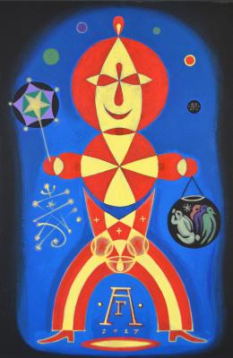 Alexander Hermes. Sunny the magician