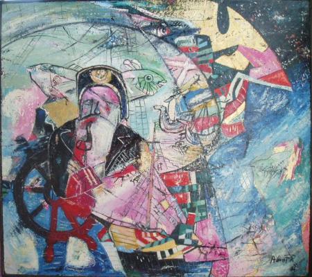 Yuri Vasilyevich Kozyrev (Avant). Captain 6 Oceans