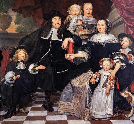 Хендрик Тен Увер. Семейный портрет