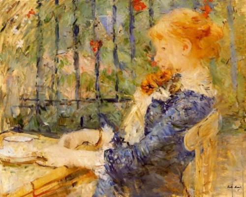 Berthe Morisot. Tea