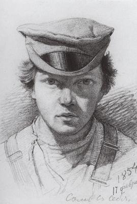 Иван Иванович Шишкин. Автопортрет